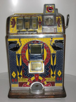 sega slot machine 1950s